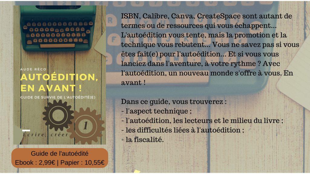 Autoédition, en avant ! - bibliographie