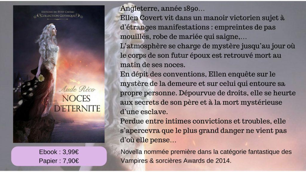 Noces d'éternité - Aude Réco