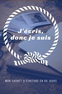 Mon carnet d'écriture - Modèle 2