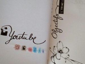Idées pour remplir mon Bullet Journal