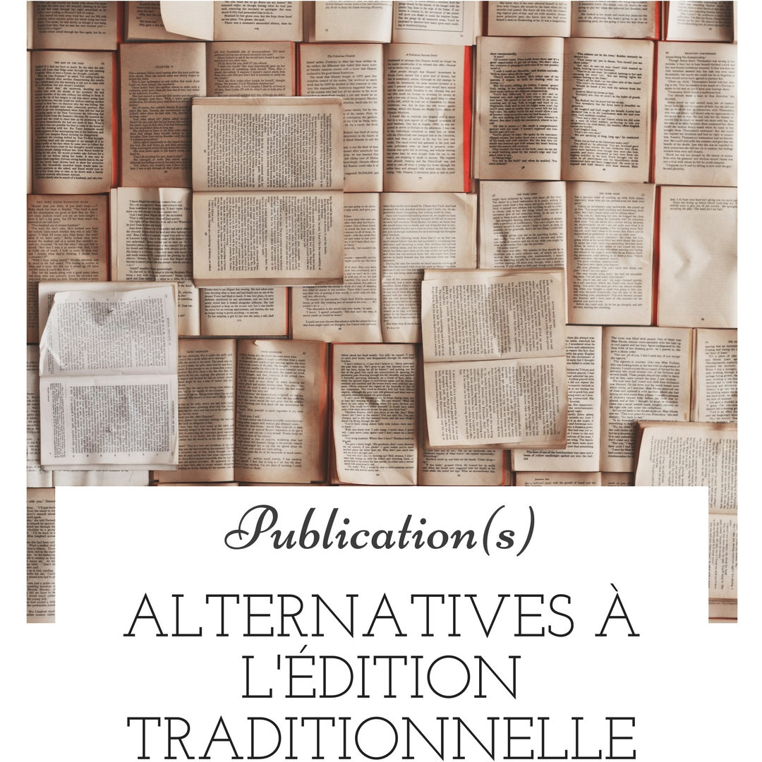 Alternatives à l'édition traditionnelle
