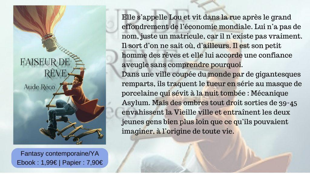 Faiseur de rêve - bibliographie - roman