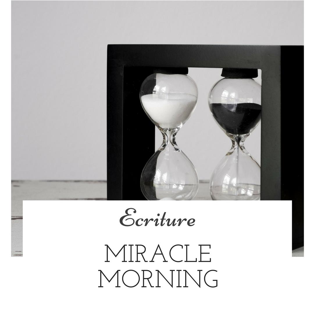Le Miracle Morning : le secret d'une matinée productive ?