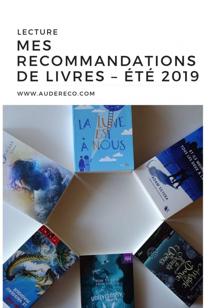 Mes Recommandations De Livres A Lire En Cet Ete 2019 Aude Reco