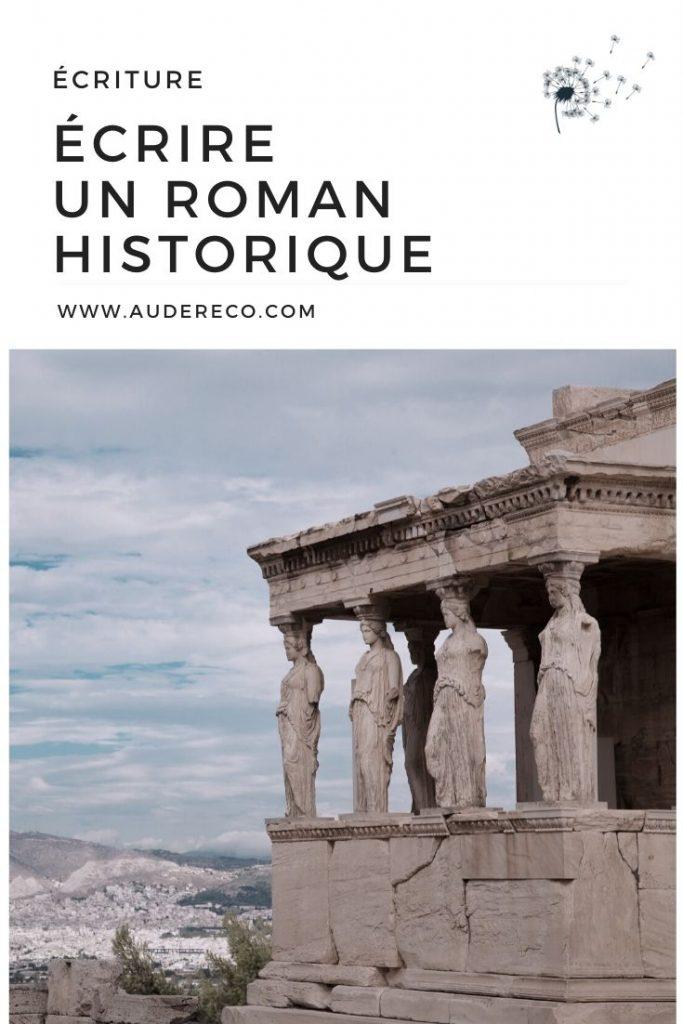 Écrire un roman historique Pinterest | Aude Réco
