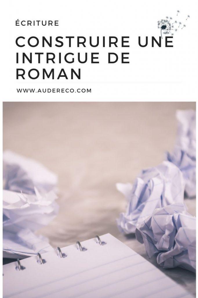 Ma méthode pour construire une intrigue de roman Pinterest   Aude Réco