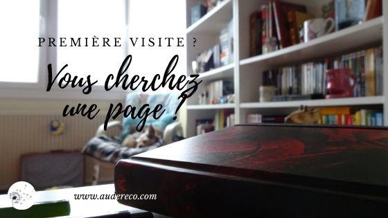 Première visite | Aude Réco