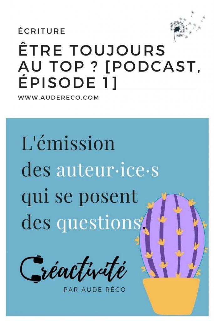 Créactivité épisode 1 pinterest | Aude Réco