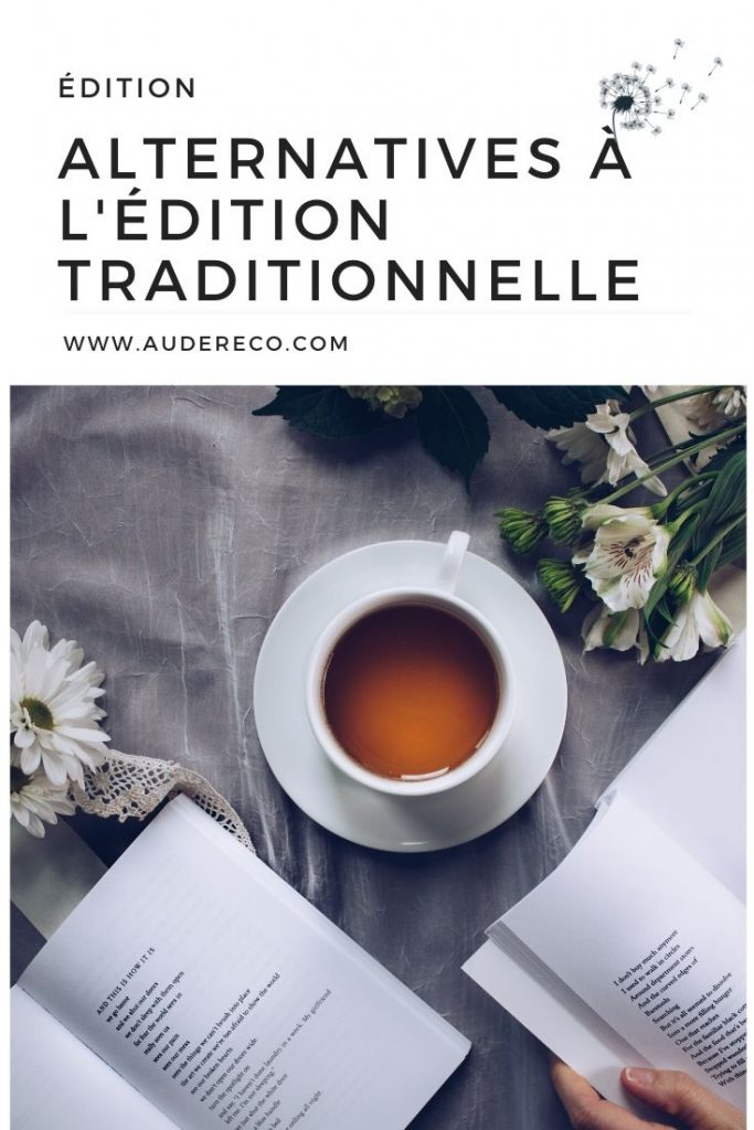 Alternatives à l'édition traditionnelle Pinterest | Aude Réco