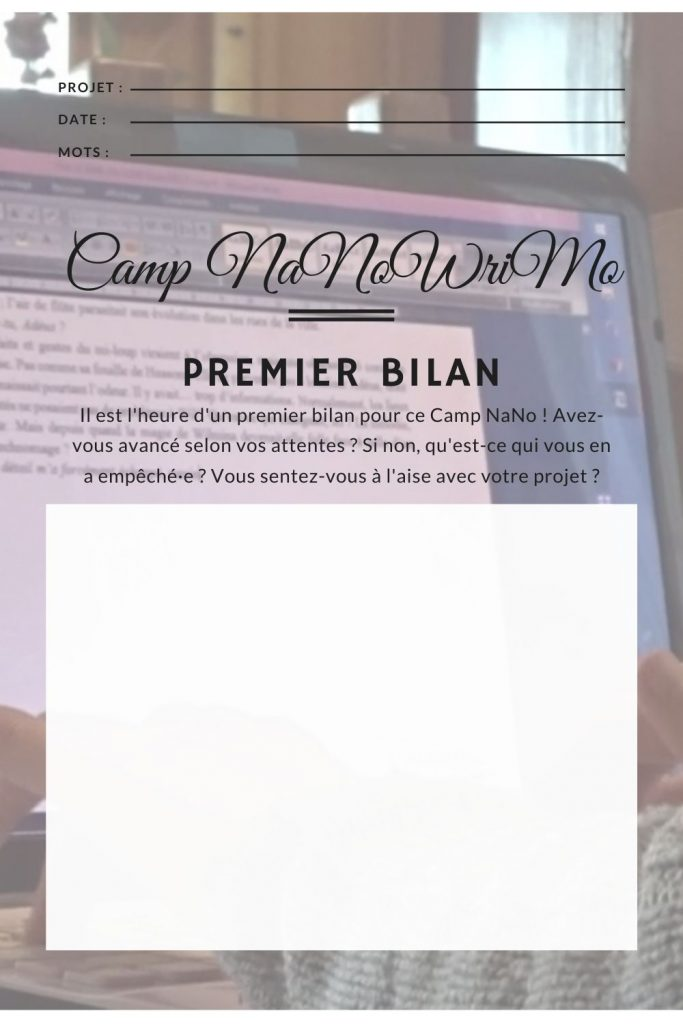 Le Camp NaNoWriMo du grand n'importe quoi