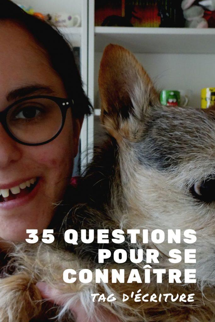 TAG d'écriture : 35 questions pour se connaître
