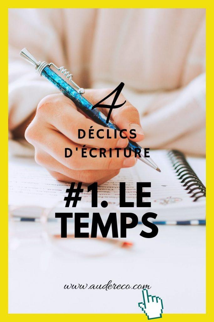 4 déclics d'écriture (1/4)