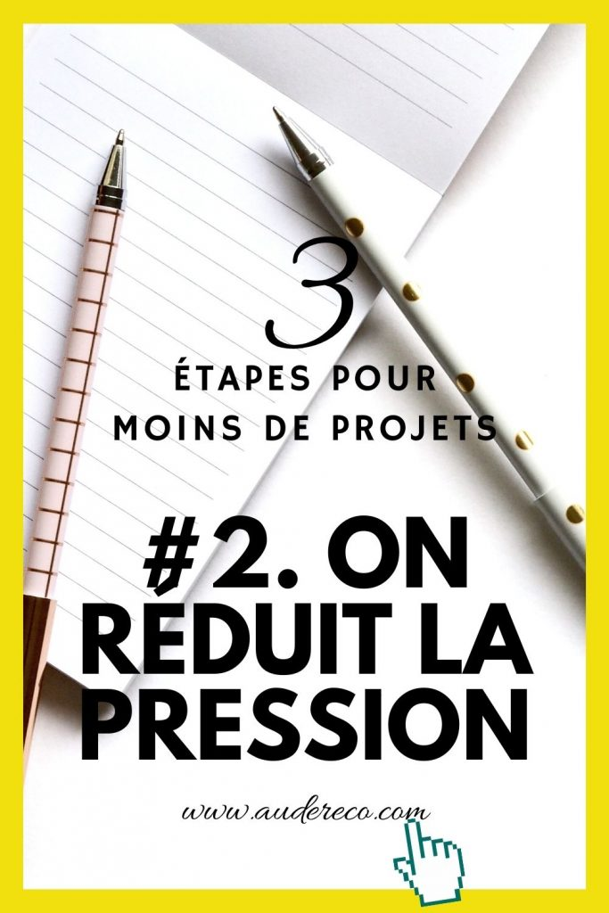 Désencombrer ses projets d'écriture en 3 étapes : étape 2